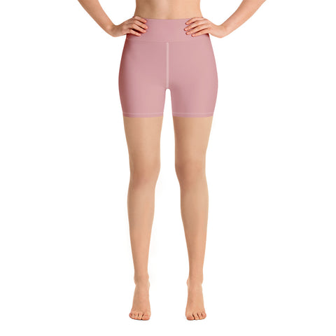 Yoga Shorts Pressed Pink.