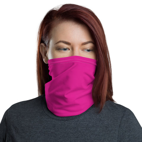 Neck Gaiter Rhodamine Red.