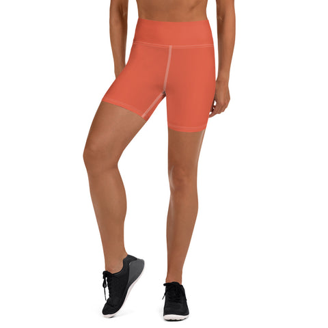 Yoga Shorts Lilly Orange.