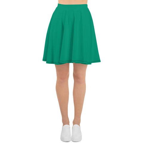Skater Skirt Emerald Green.