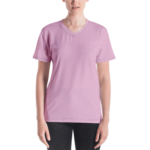 Women's V-neck Sweet Pink.
