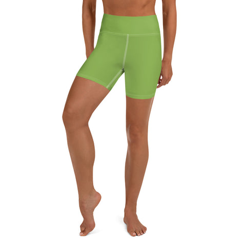 Yoga Shorts Greenery Green.