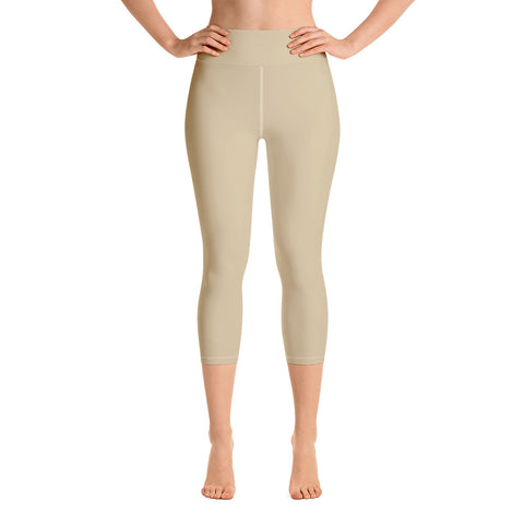 Yoga Capri Leggings Soybean.
