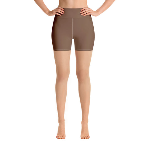 Yoga Shorts Toffee Brown.
