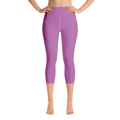 Yoga Capri Leggings Radiant Violet.