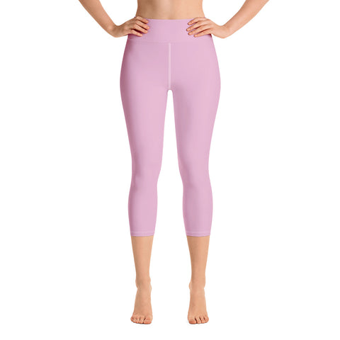 Yoga Capri Leggings Sweet Pink.