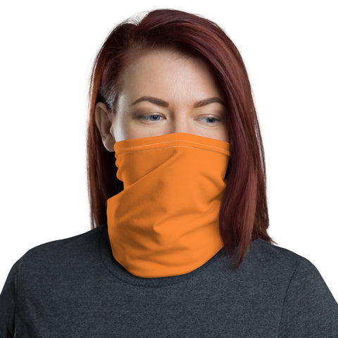 Neck Gaiter Turmeric Orange.