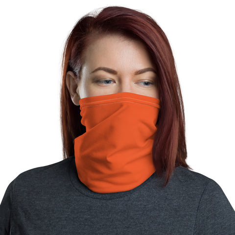 Neck Gaiter Orange.