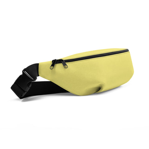 Fanny Pack Lemon Yellow.