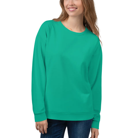 Unisex Sweatshirt Bright Green.
