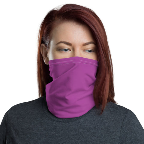 Neck Gaiter Purple.