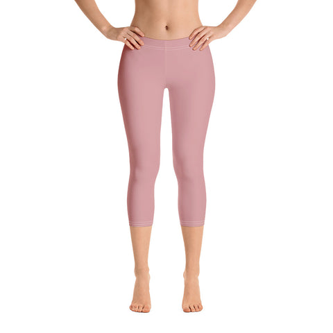 Capri Leggings Pressed Pink.