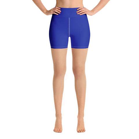 Yoga Shorts Dark Blue.