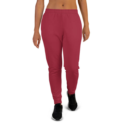 Women's Joggers Chili Red.