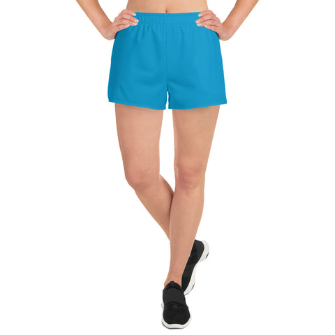 Women's Athletic Short Shorts Cloud Blue.