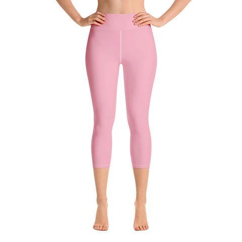 Yoga Capri Leggings Salmon.