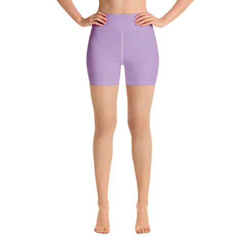 Yoga Shorts Light Violet.