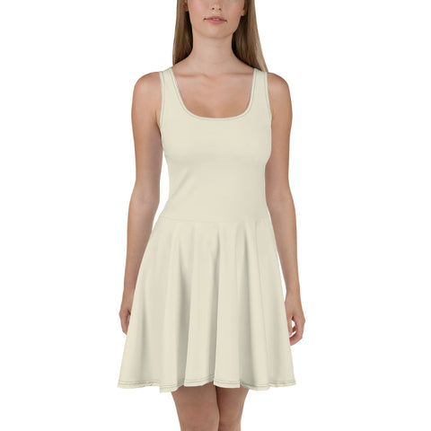 Skater Dress Sweet White