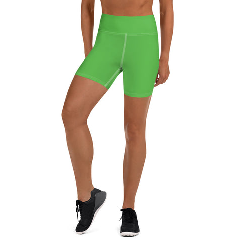 Yoga Shorts Intense Green.