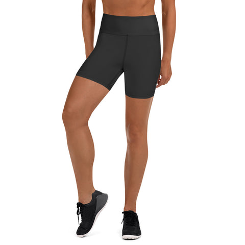 Yoga Shorts Neutral Black.