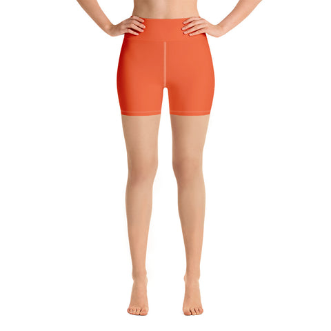 Yoga Shorts Orange.