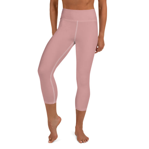 Yoga Capri Leggings Pressed Pink.