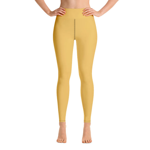 Yoga Leggings Mimosa Yellow.