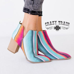 Serape Booties