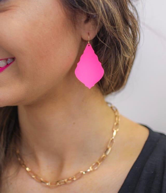 Pink Perfect Earrings