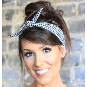 Picnic Plaid Headband