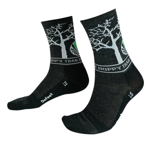 Oaks Wooleator Socks - Charcoal