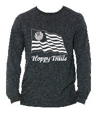 Long Sleeve Hoppy Trails Flag T