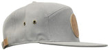 Super-Cali Grey Five Panel Hat