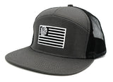 7-Panel, Flag Trucker Hat