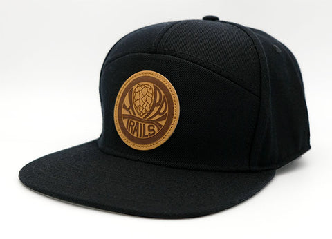 New Super-Cali 7-Panel Black Hat