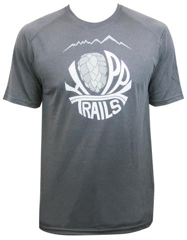 Men's Trail Tech Tee, Synthetic, Crew Neck