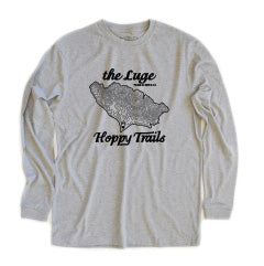 Luge Trail Tech Long Sleeve, Crew Neck