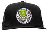 Classic Hoppy Trucker Hat - Black