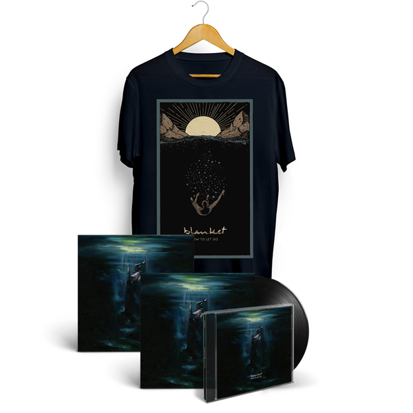 BLANKET - How To Let Go - CD + LP + T-Shirt + Art Print