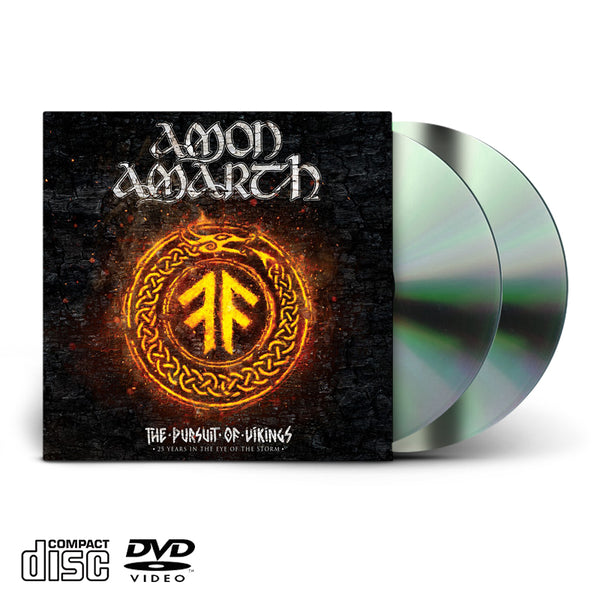 AMON AMARTH - THE PURSUIT OF VIKINGS - DVD/CD