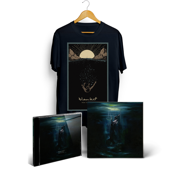 BLANKET - How To Let Go - CD + T-Shirt + Art Print