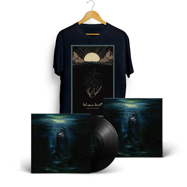BLANKET - How To Let Go - LP + T-Shirt + Art Print