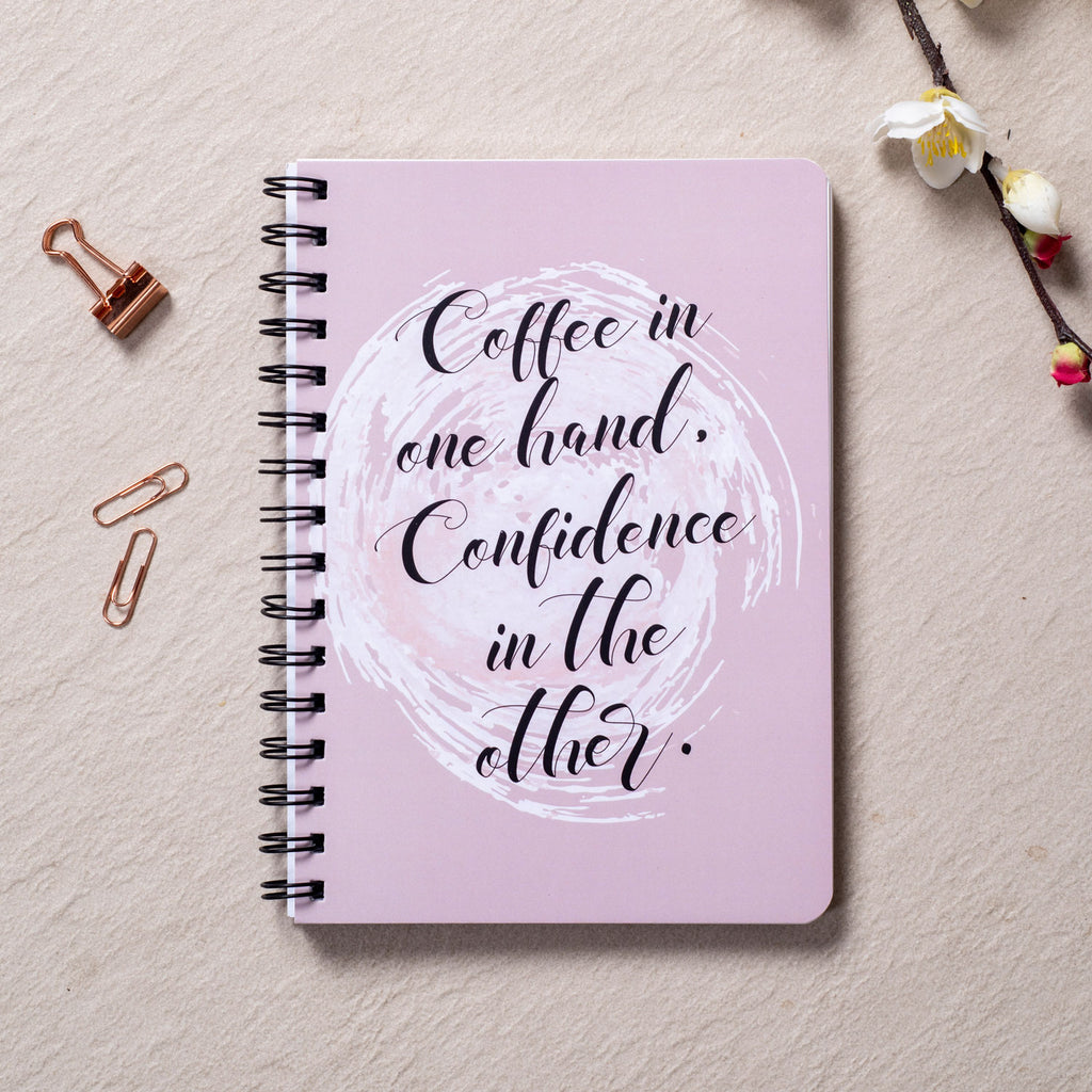 Coffee & Confidence - Daily Planner