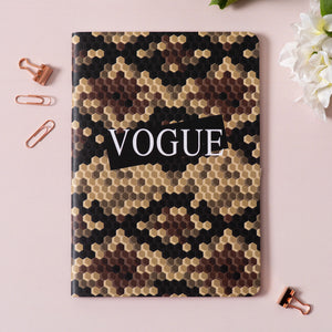 Vogue (Snake Skin Print) Notebook