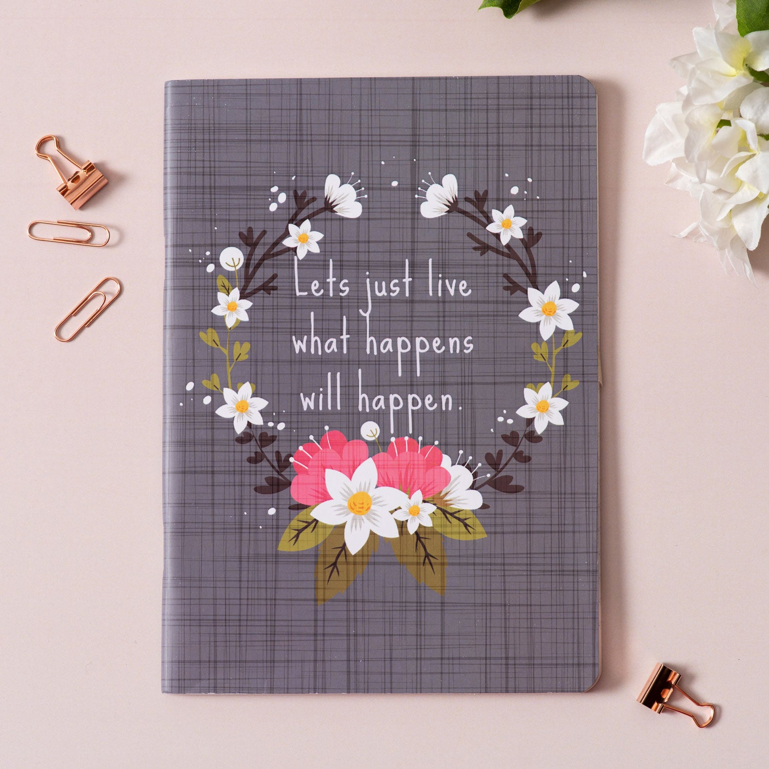 Let's Just Live Notebook