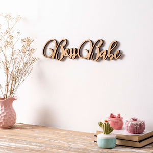 Boss Babe - 3D Wall Letters