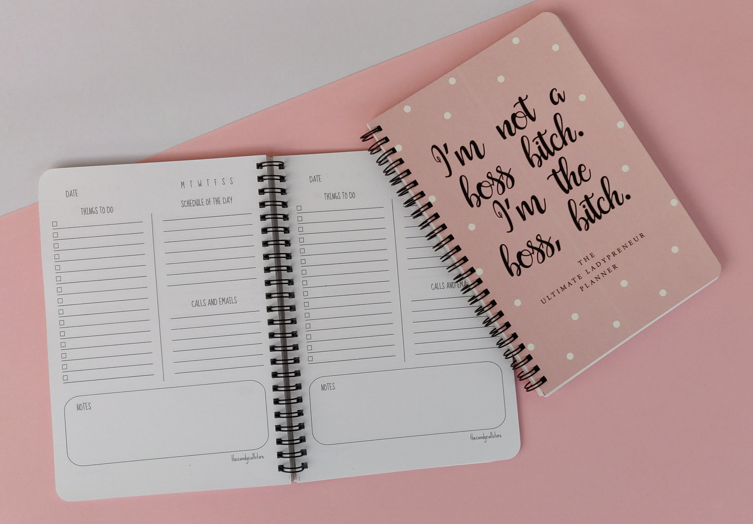 Boss Bitch - Daily Planner