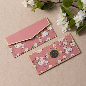 Cherry Blossom - Gold Foiled Envelopes (Set of 10)