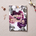 Expect Miracles - Gold Printed Notebook