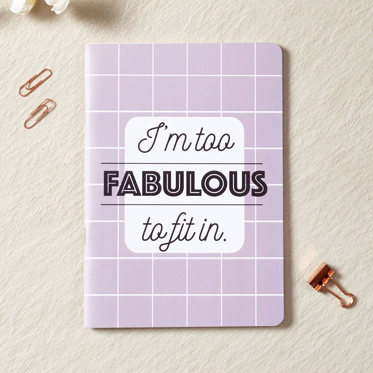 I'm Too Fabulous Notebook